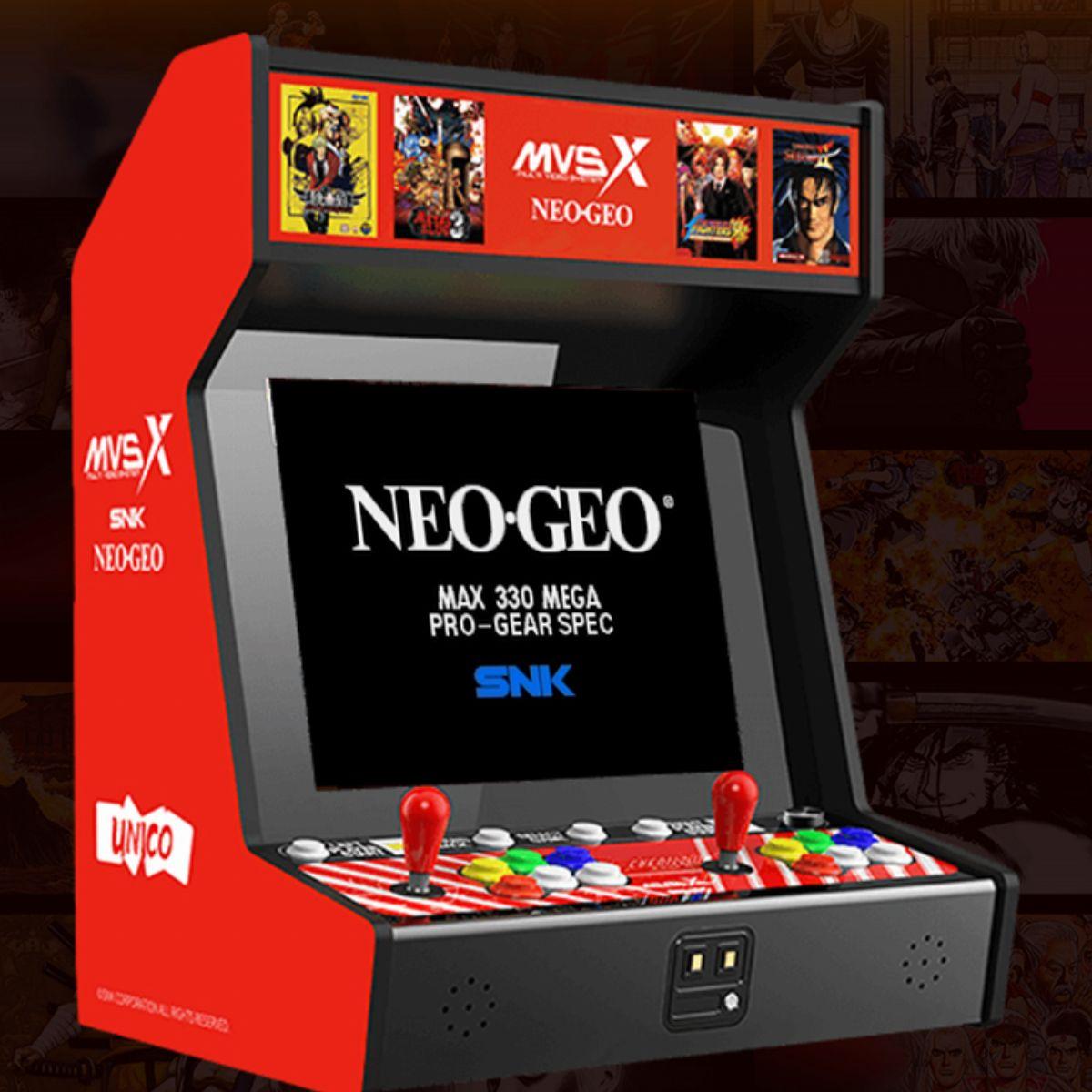 Neo Geo Une Borne D Arcade Mvsx Officielle Avec 50 Jeux Annoncée Infos Et Images