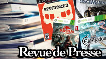 Revue de presse : Resistance 3, Space Marine, Dead Island...