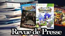 Revue de presse : Sonic Generations, Payday, Ratchet & Clank...