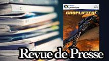 Revue de presse : Choplifter HD