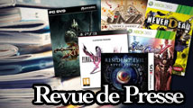 Revue de presse : FFXIII-2, SoulCalibur V, RE: Revelations, NeverDead...