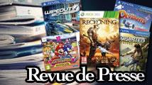 Revue de presse : Uncharted, WipEout, Reckoning, LittleDeviants, etc.