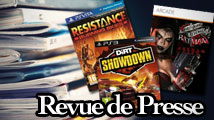Revue de presse : DiRT Showdown, Resistance Vita, Revanche d'Harley Quinn