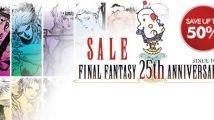Final Fantasy : -50% sur le PSN
