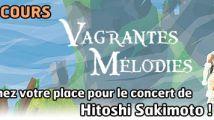 Concours Sakimoto : gagnez votre place pour le concert