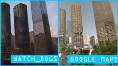 L'image du jour : Watch Dogs Vs la réalité avec Google Maps