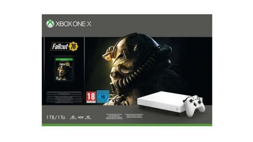 BON PLAN FNAC : Pack Xbox One X 1 To Edition Limitée Robot White + Fallout 76 à -24% - Post de Gameblog Bons Plans