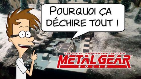 Metal Gear Solid (PS1) : Pourquoi ça déchire tout ! - Post de Antoine Bardet