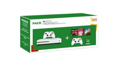 BON PLAN FNAC : Pack Fnac Xbox One + 3 jeux + 2ème manette à 299¤99 (-42%) - Post de Gameblog Bons Plans