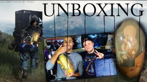 Unboxing Death Stranding : BB sort de sa boîte collector à 200¤ ! - Post de StephaneLink