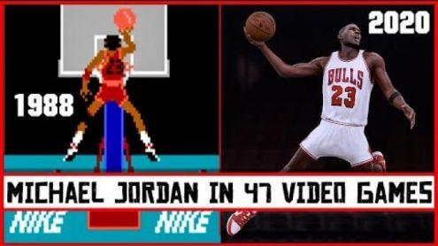 MICHAEL JORDAN dans les jeux vidéo - Post de VGEvolution