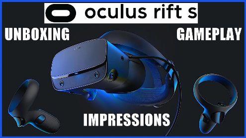 OCULUS RIFT S : le grand déballage, du gameplay et mon avis (comparé au PS VR et à l'HP VR1000 WMR) - Post de koyuki44Pc