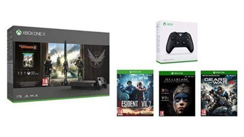 BON PLAN AMAZON : Console Xbox One X + manette + 4 jeux à 410,99¤ (-40%) - Post de Gameblog Bons Plans