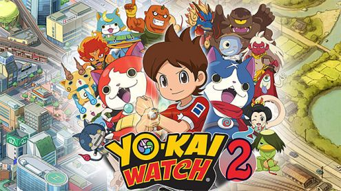 test de yo kai watch 2 fantmes bouffis nintendo 3ds. Black Bedroom Furniture Sets. Home Design Ideas
