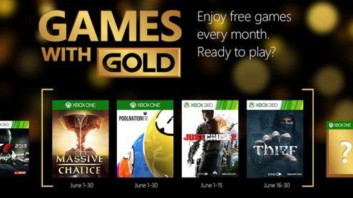 Xbox Games With Gold : les jeux gratuits de juin 2015 révélés