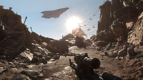 Star Wars Battlefront : superbes images 4K Ultra, en direct de l'alpha PC