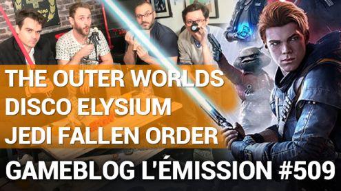 PODCAST 509 : Star Wars Jedi Fallen Order, The Outer Worlds et Disco Elysium nous éclatent