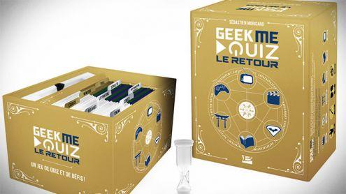 Geek Me Quizz, le jeu de société des geeks, est de retour