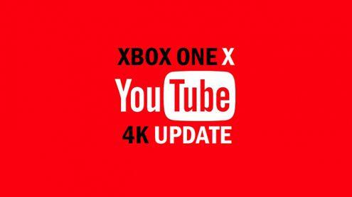 Xbox One X : YouTube ouvre en grand les vannes de la 4K