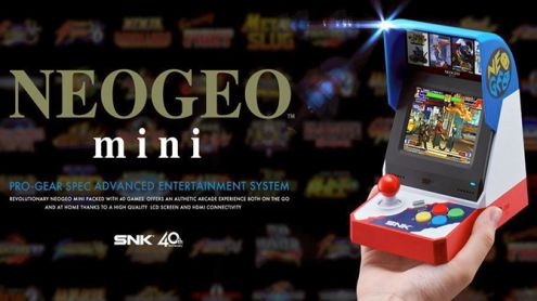 La Neo Geo Mini dévoile enfin sa date de sortie et son prix
