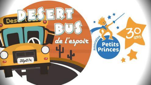 Suivez le Desert Bus de l'Espoir 2018 à partir de ce vendredi 11h00