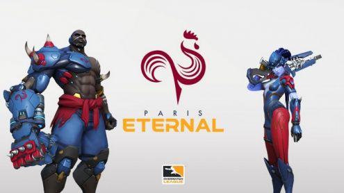 Overwatch League : Paris Eternal officialise son identité visuelle