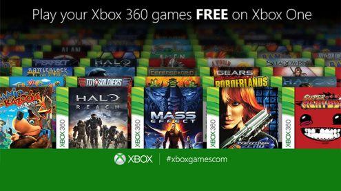 Trois jeux rejoignent la liste des titres rétrocompatibles Xbox One