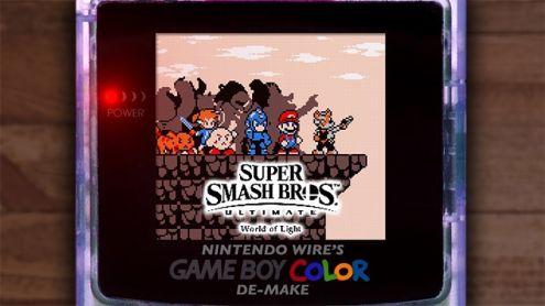 """Smash Bros. Ultimate : La bande-annonce """"World of Light"""" recréée façon Game Boy Color"""