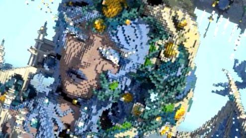 L'image du jour : Une véritable oeuvre d'art créée dans Minecraft