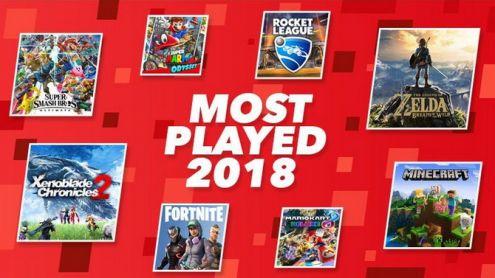 Nintendo Switch : Le jeu le plus joué de la console en 2018 est...