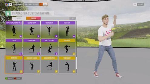 Forza Horizon 4 supprime deux danses pour s'éviter des soucis