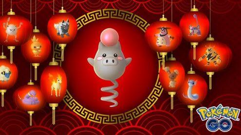Pokémon Go fête le Nouvel an Chinois