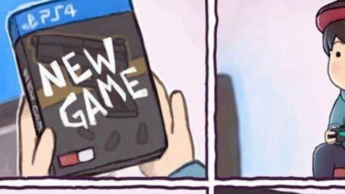 L'image du jour : Une histoire de temps d'attente avant de pouvoir jouer