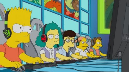 Bart superstar, Homer en coach : Les Simpson ont rendu hommage à League of Legends