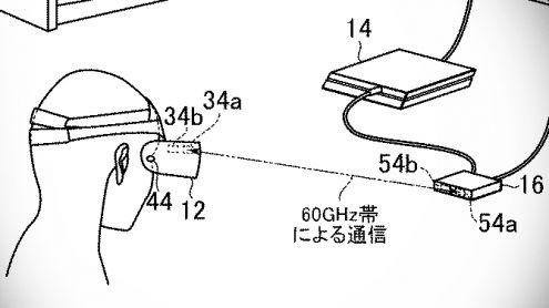 Sony dépose un brevet pour un PlayStation VR sans fil, les images