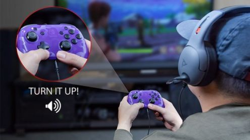 Nintendo Switch : Une manette Pro avec prise casque annoncée