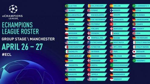 FIFA 19 : Les qualifiés de l'eLigue des champions connus, Maestro et deux autres Français en lice