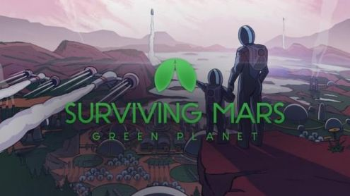 Surviving Mars sort son DLC Green Planet