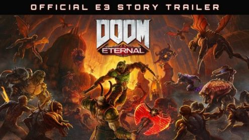 E3 2019 : DOOM Eternal fait péter du démon dans une nouvelle vidéo TRASH