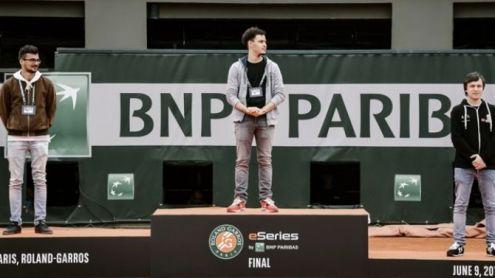 eSport : Un Français au sommet de Tennis World Tour Roland Garros