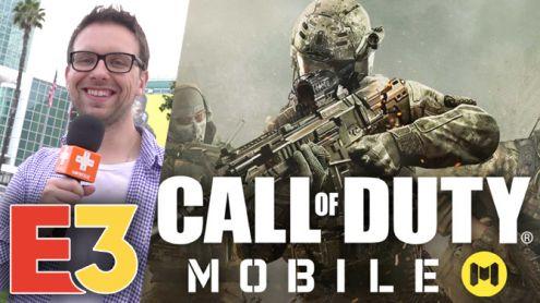 E3 2019 : On a essayé Call of Duty Mobile, un FPS vraiment jouable sur smartphone