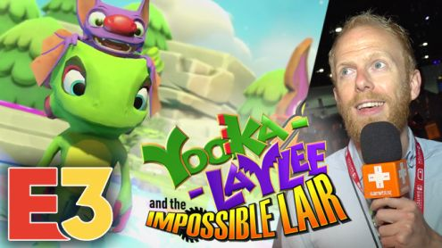 E3 2019 : On a Joué à Yooka-Laylee The Impossible Lair, le nouveau Donkey Kong Country
