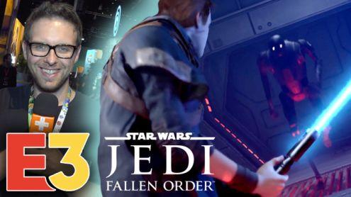 E3 2019 : On a joué à Star Wars Jedi Fallen Order et on y voit plus clair