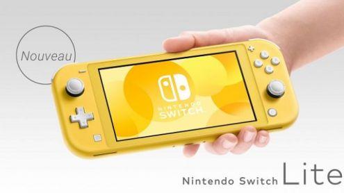 La Nintendo Switch Lite annoncée officiellement ! Toutes les infos, vidéo et images dévoilées