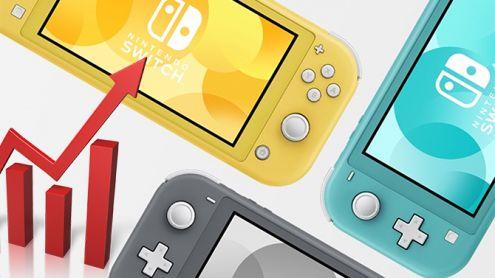 Nintendo Switch Lite : L'action du constructeur fait un bond après son annonce