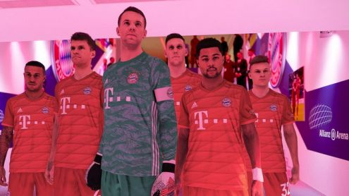 eFootball PES 2020 : Le Bayern Munich partenaire du jeu, vidéo et images wunderbar