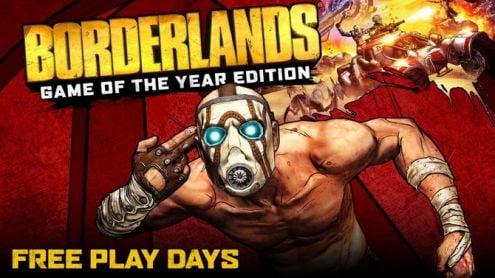 C'est gratuiiit : Borderlands Édition GOTY allume les Free Play Days sur Xbox One et PC