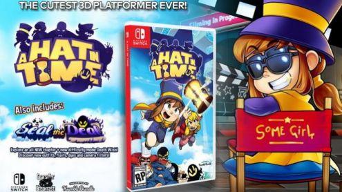 Nintendo Switch : A Hat in Time sort une date de son chapeau