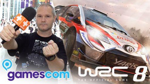 GAMESCOM 2019 : On a pris le volant de WRC 8, et il y a bien une équipe derrière un pilote