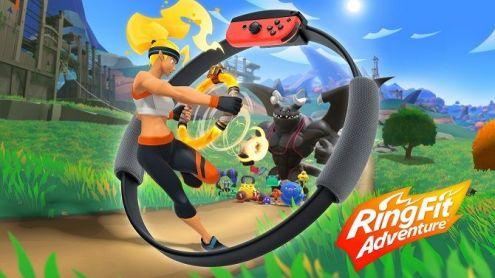 Nintendo Switch : Ring Fit Adventure s'annonce, l'expérience qui va vous faire mouiller le maillot